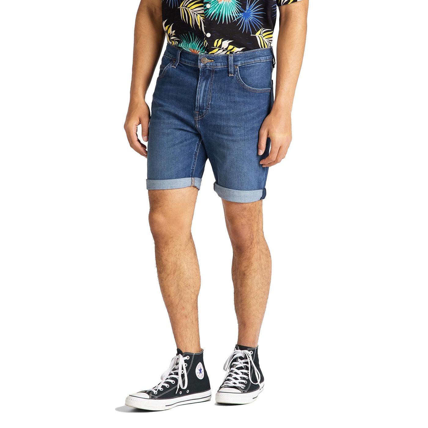 Rider LEE JEANS Men's Retro Denim Shorts - Hawaii