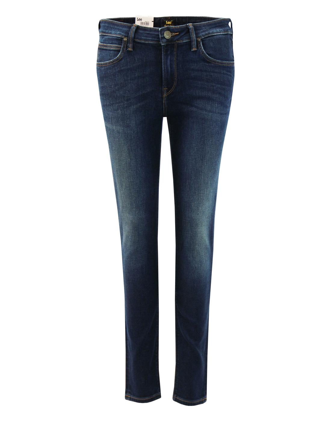 Scarlett LEE Retro Womens Mean Streak Skinny Jeans