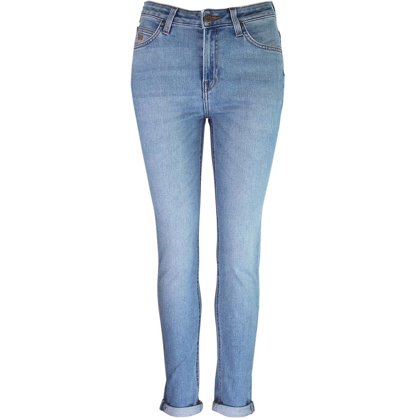 Scarlett High LEE Skinny High Waist Jeans (Flight)