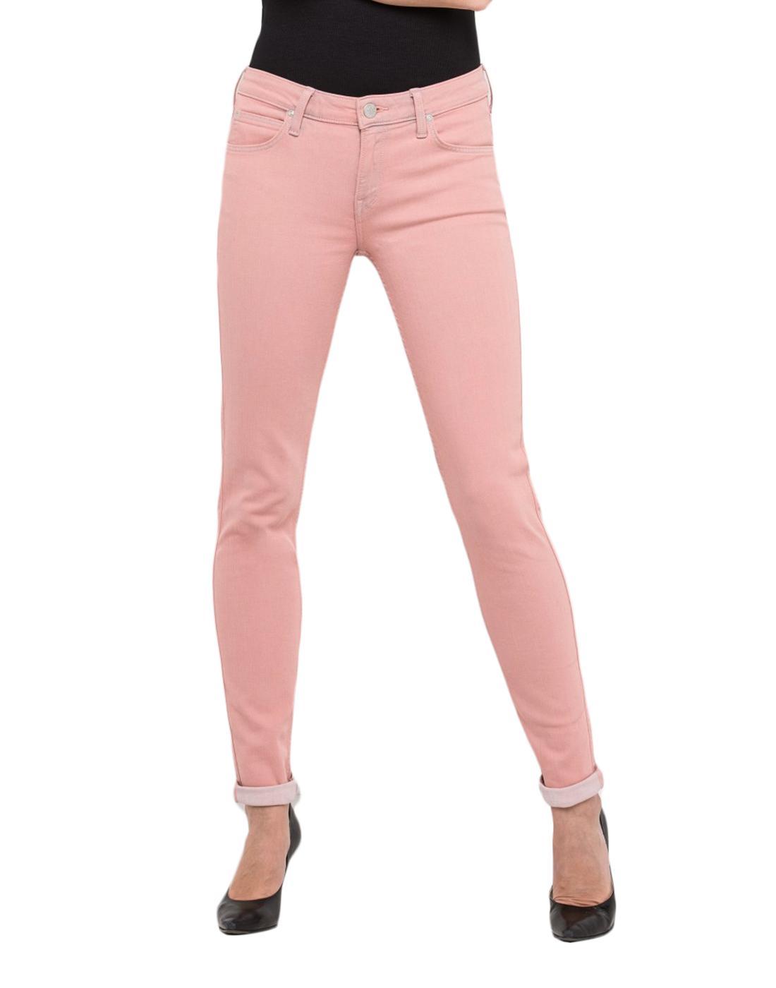 Scarlett LEE JEANS Womens Skinny Jeans in 80s Pink