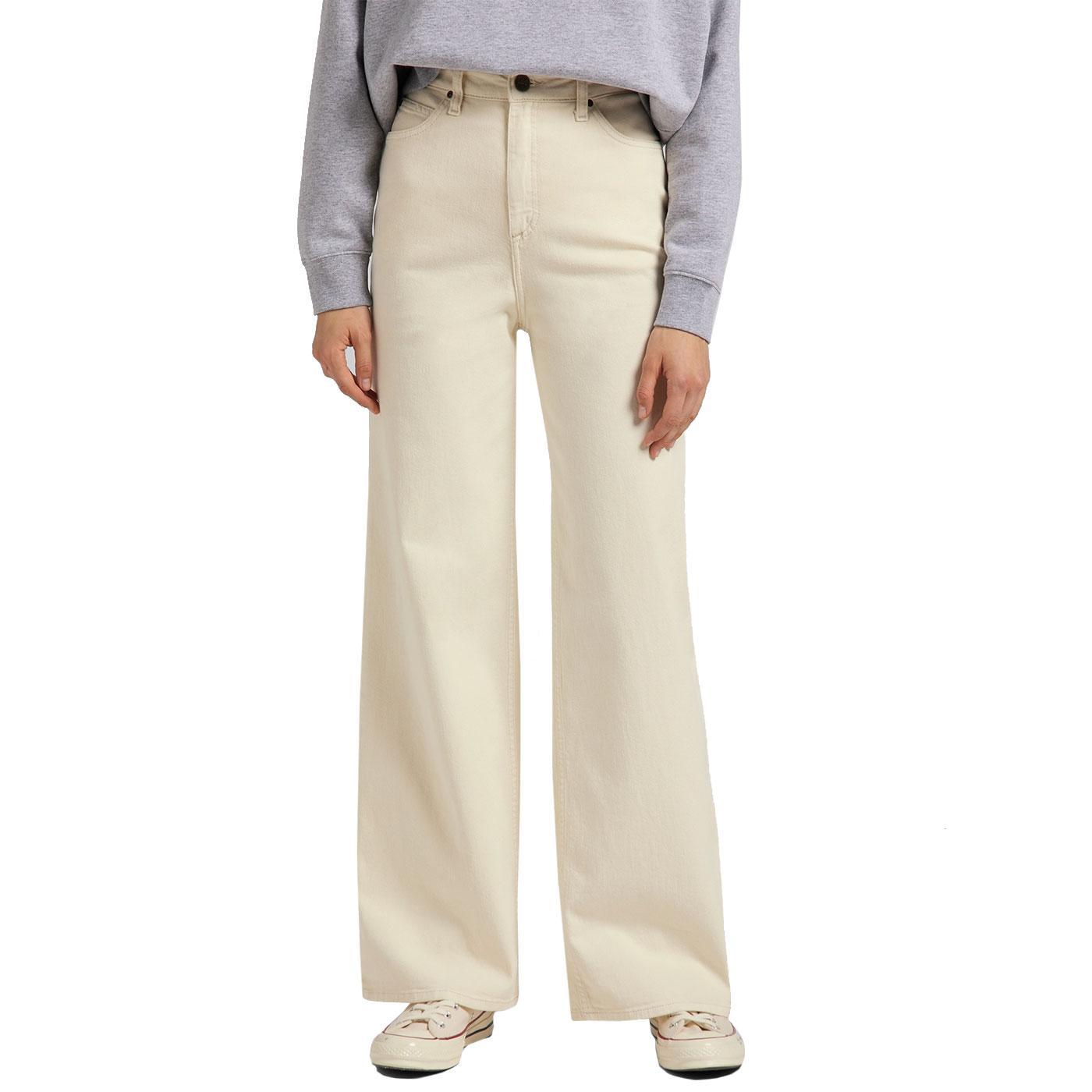 Stella LEE JEANS Womens A-Line Denim Jeans - Ecru