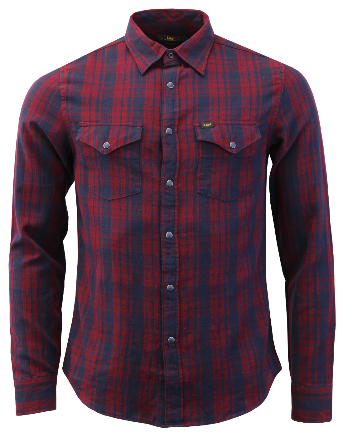 LEE Retro Mod Herringbone Check Western Shirt (TP)