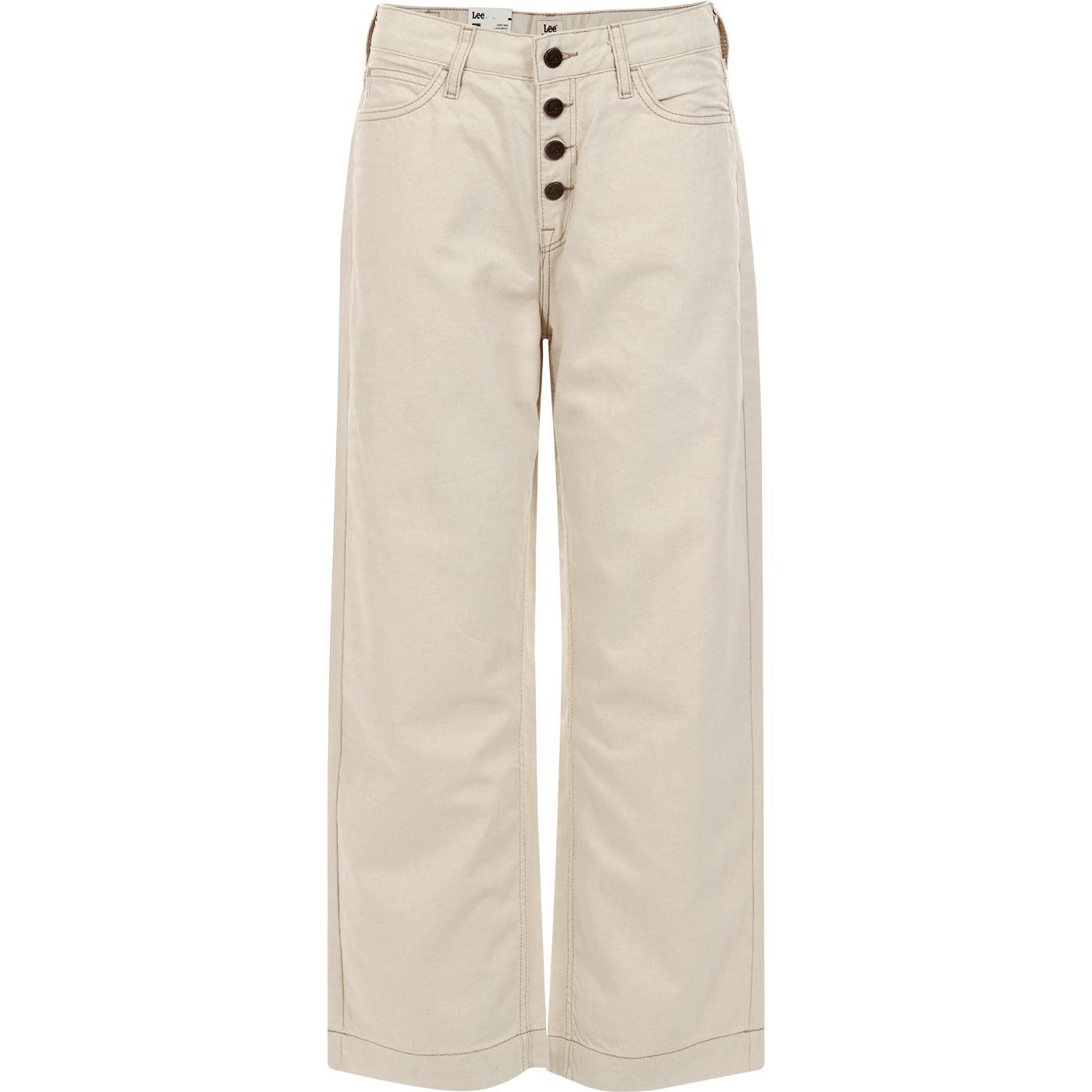 Button Thru LEE JEANS Women's Wide Leg Jeans O-W