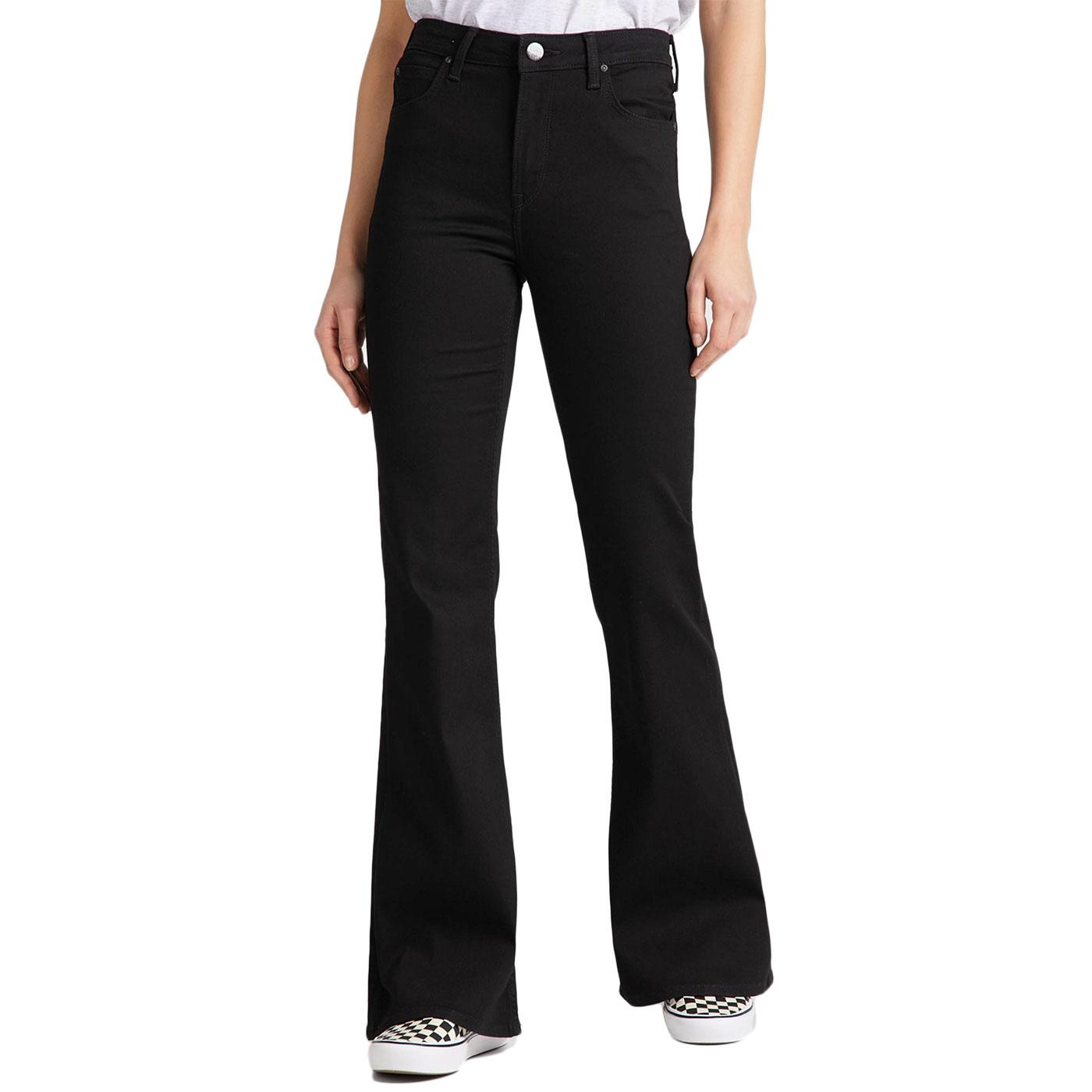 Breese LEE Retro 70s High Waist Flared Jeans (BR)