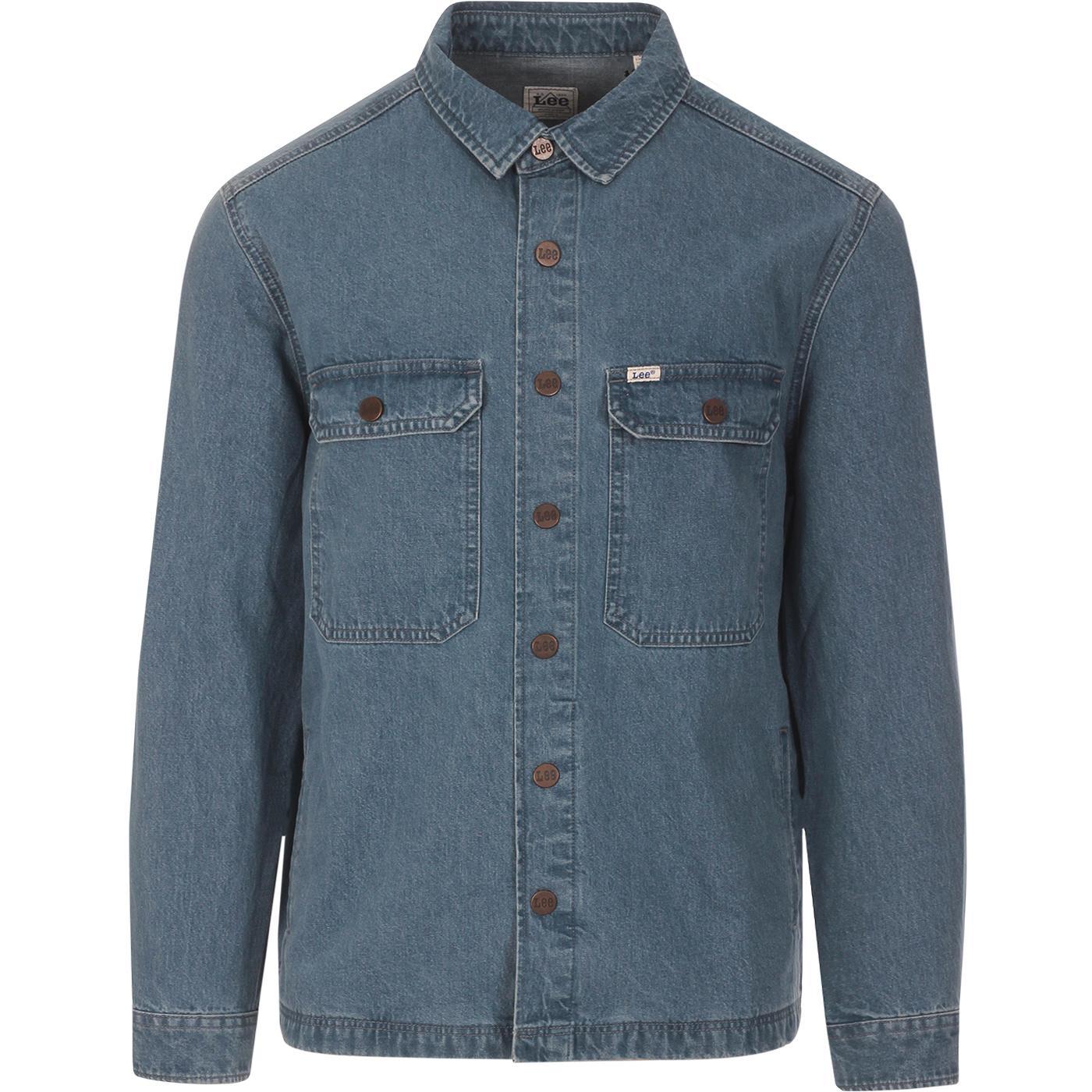 LEE JEANS Retro Mod Denim Workwear Overshirt
