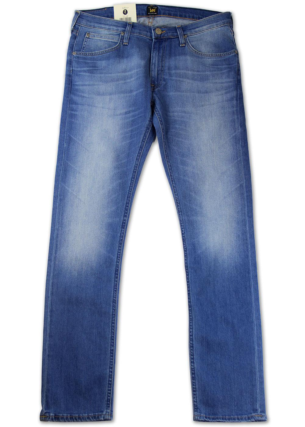 Luke LEE Jeans Retro Slim Tapered Denim Jeans (BS)