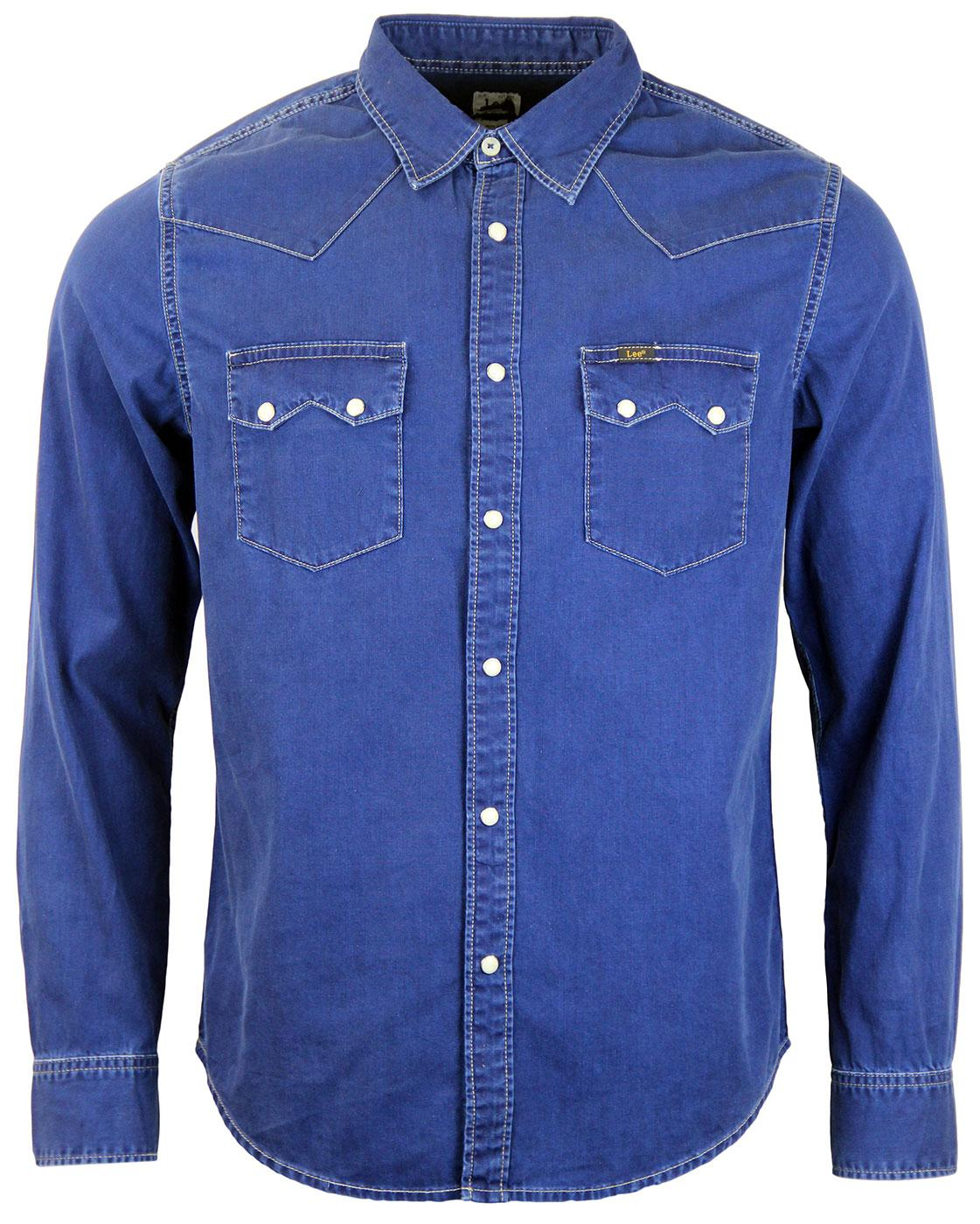 Shop For Sale Outlet Low Price Fee Shipping DENIM - Denim shirts Lee Sale Eastbay Buy Cheap Really Clearance Browse NHSaUV