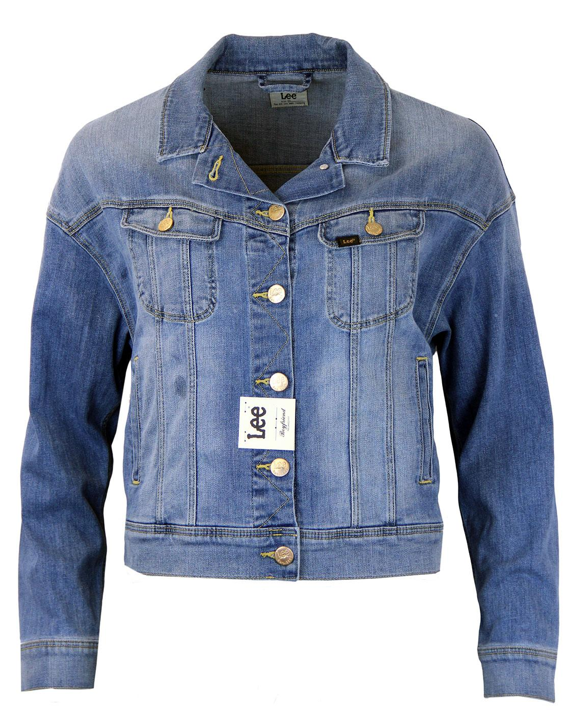 LEE Retro Indie Boyfriend Fit Denim Rider Jacket