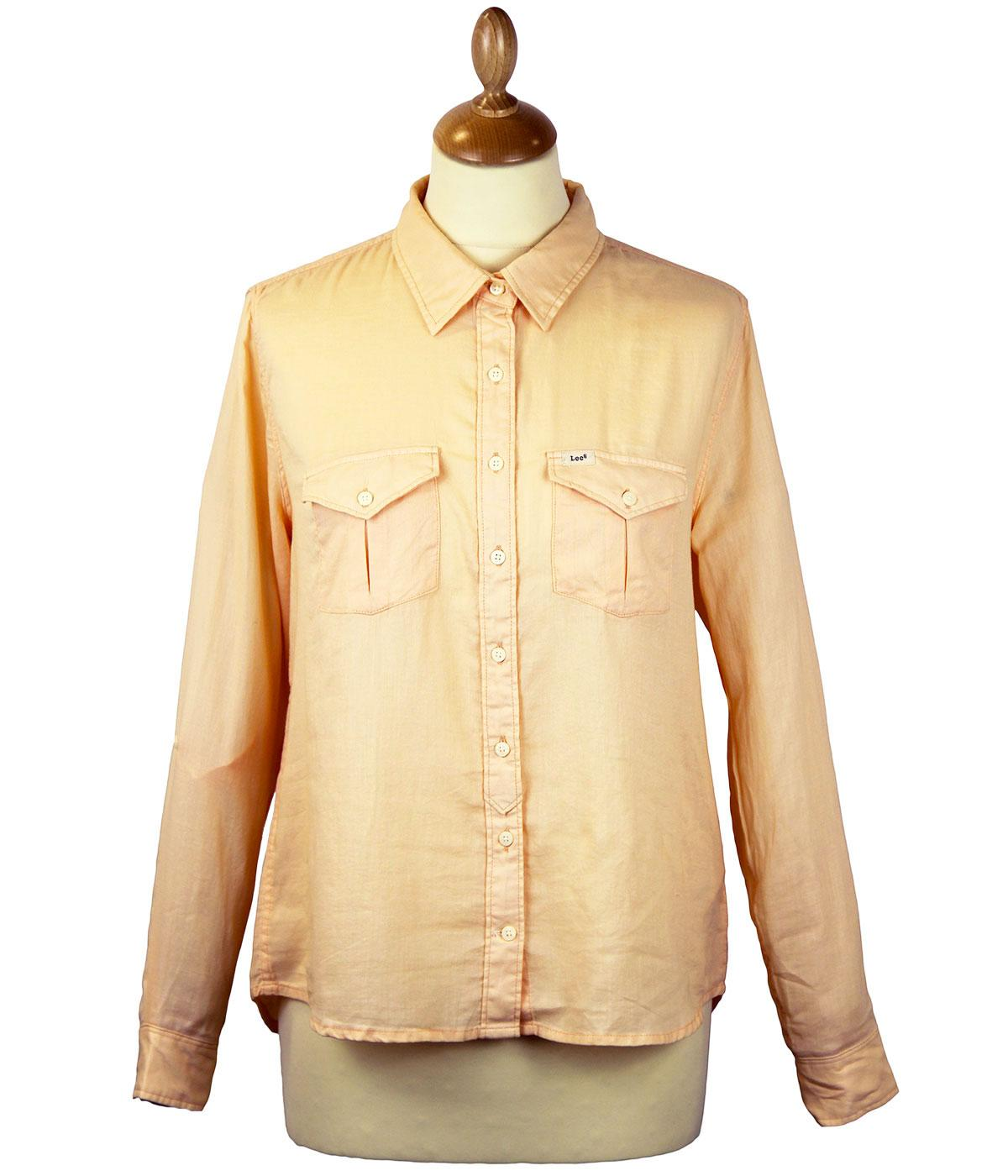 LEE Retro 70s Double Pocket Western Slouchy Shirt