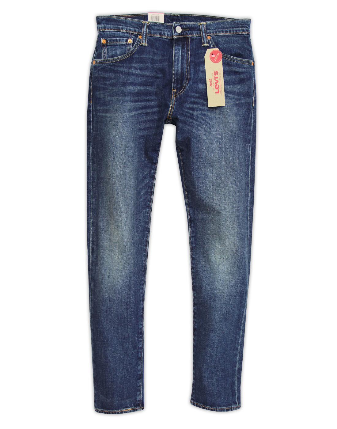 Brand new LEVI'S 512 Madison Square Retro Mod Slim Taper Fit Denim Jeans CZ76