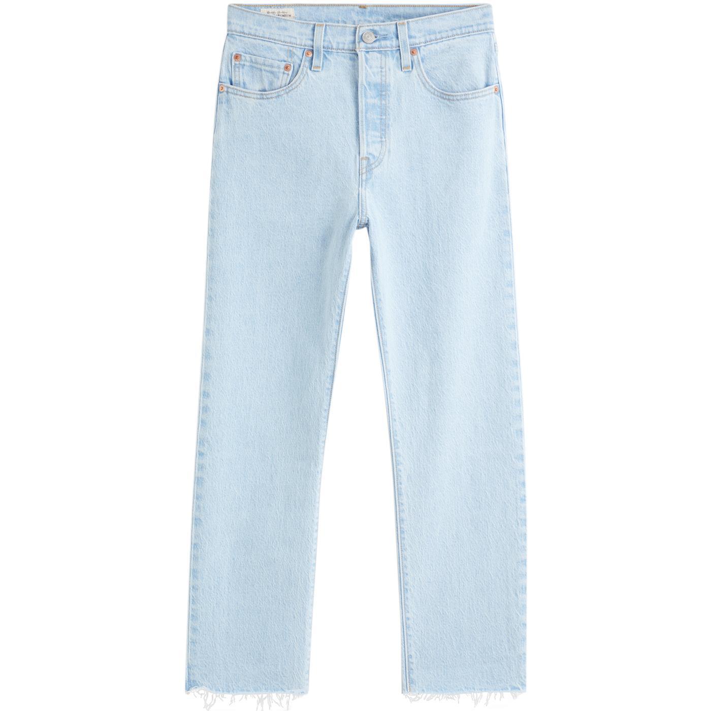 LEVI'S 501 Cropped Retro Jeans (Samba Goal)