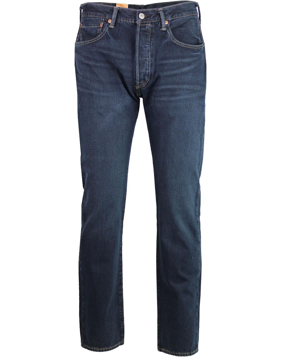 LEVI'S 501 Original Straight Jeans DARK HOURS