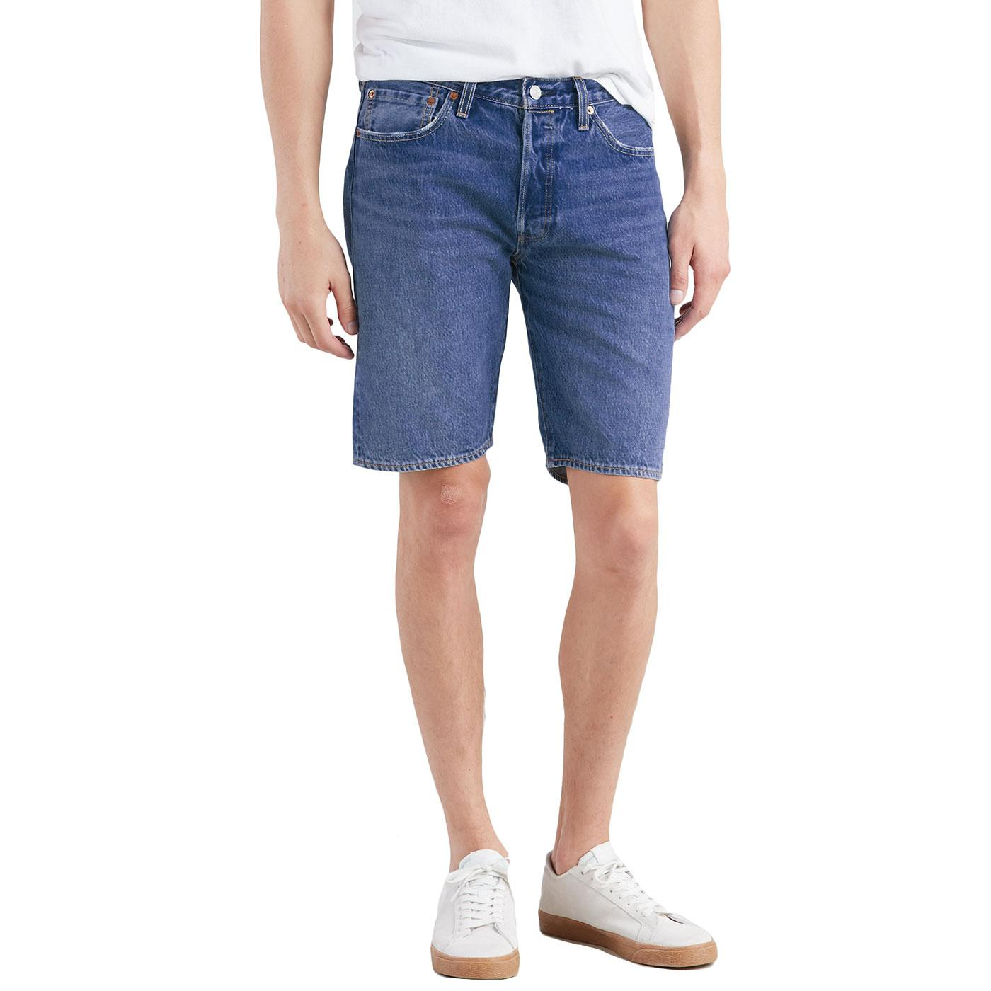 LEVI'S 501 Men's Hemmed Denim Shorts (Nashville)
