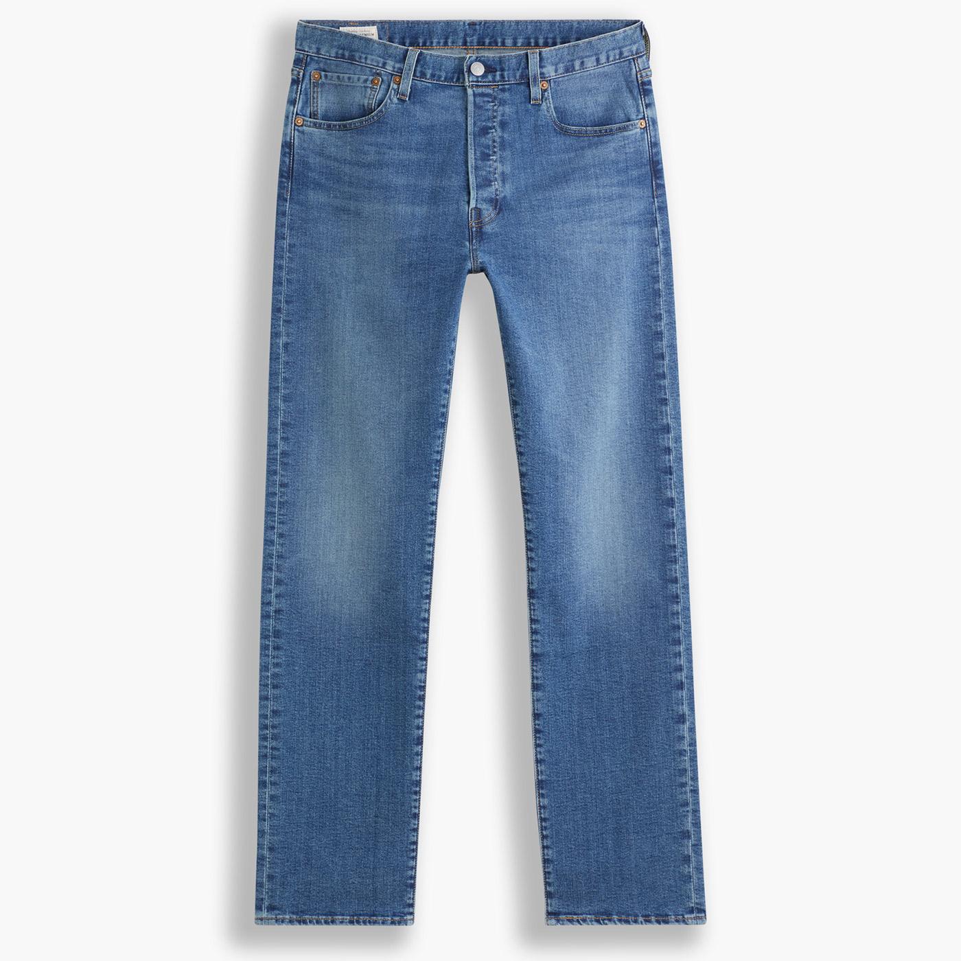 LEVI'S 501 Original Straight Retro Jeans (BIM)