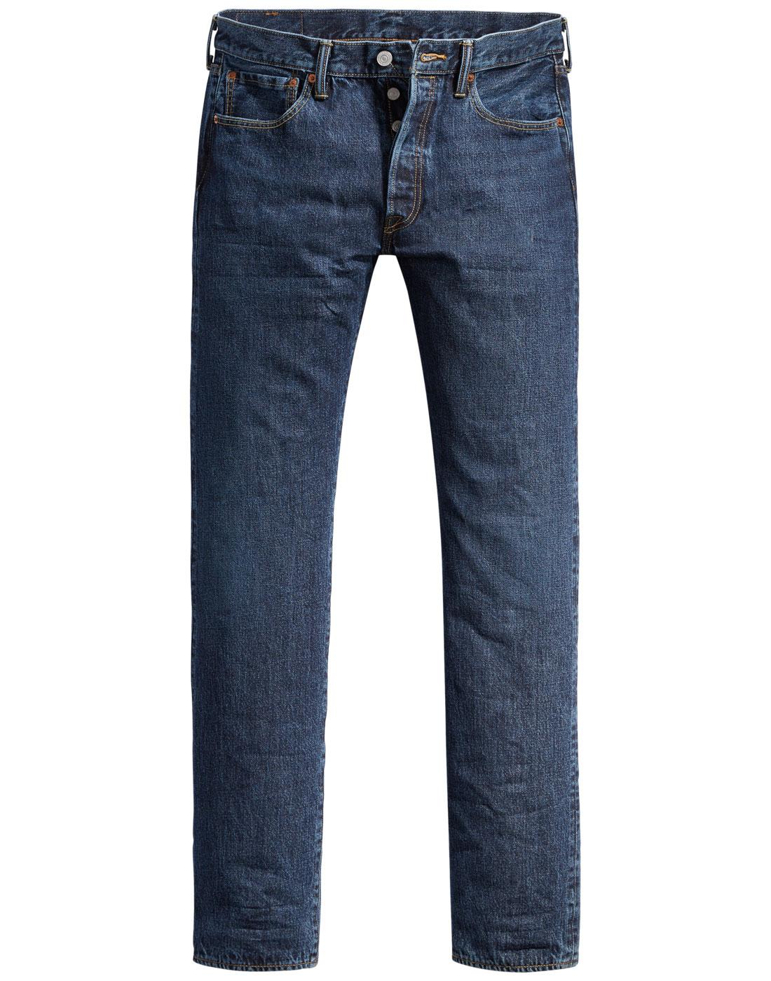 LEVI'S 501 Mod Original Straight Jeans LUTHER BLUE