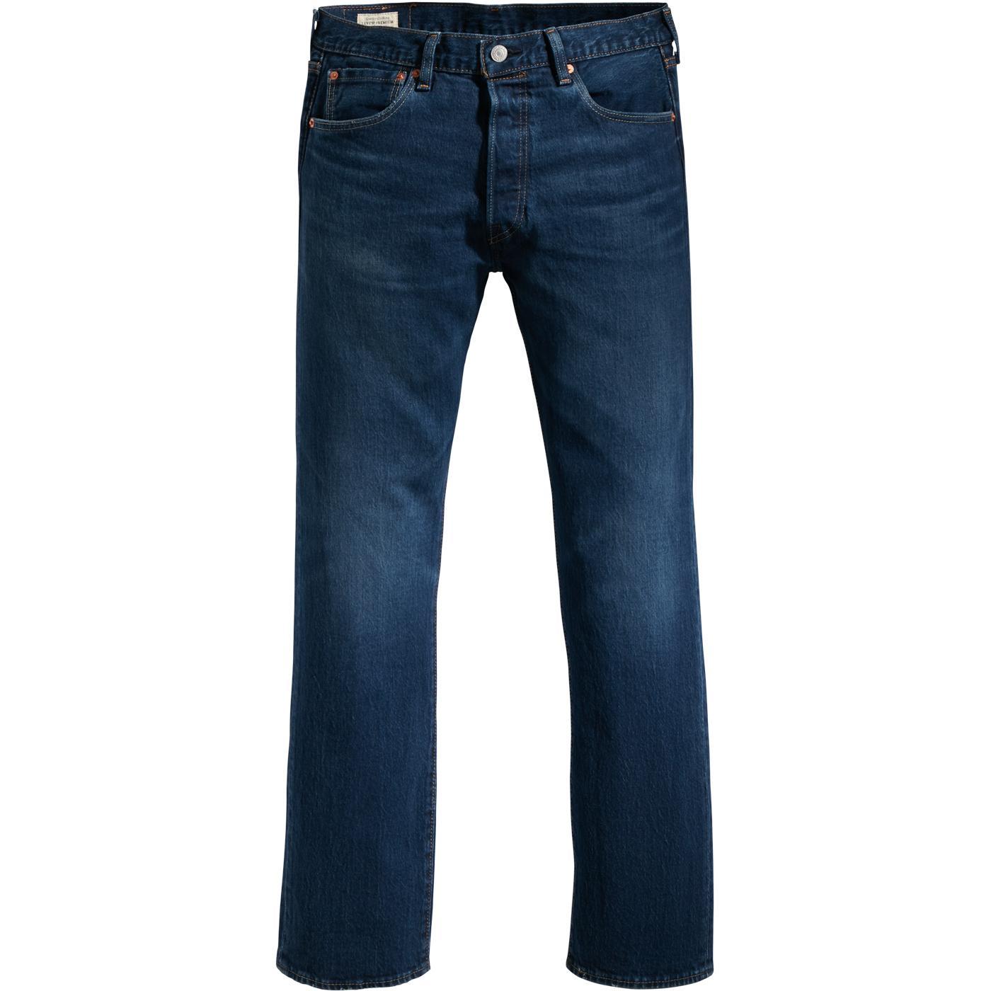 LEVI'S 501 Original Straight Leg Jeans (Miami Sky)