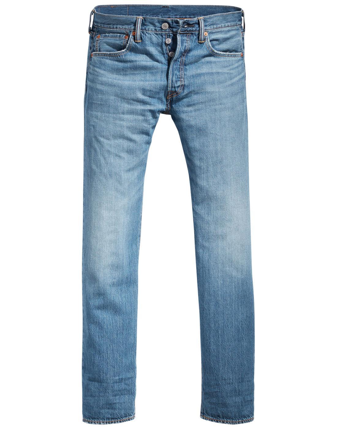 LEVI'S 501 Original Straight Jeans ROCKY ROAD COOL