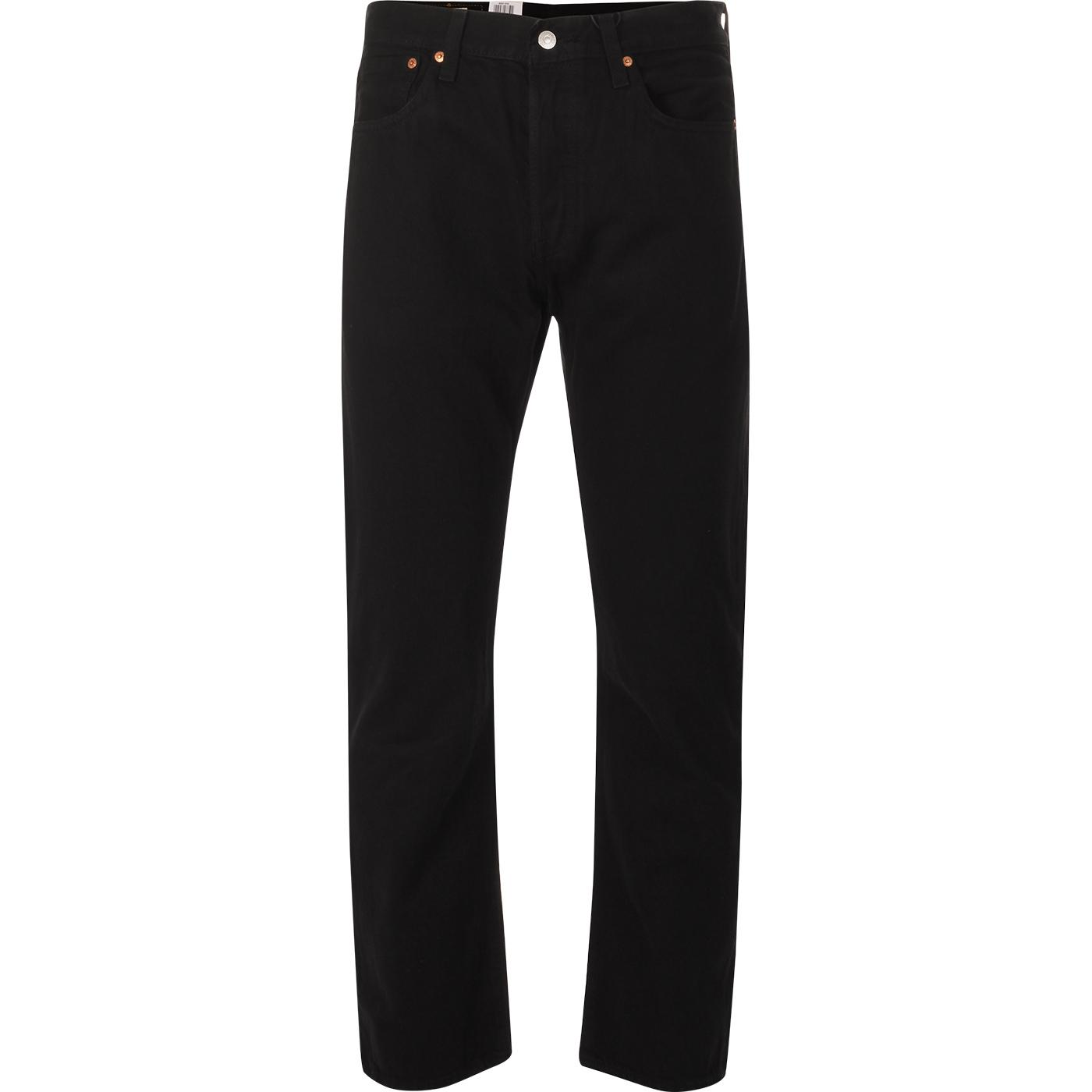 LEVI'S 501 Original Straight Leg Jeans (Black)
