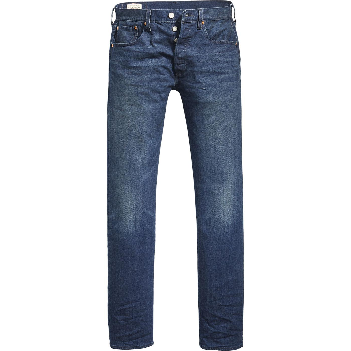 LEVI'S 501 Original Straight Leg Jeans BOARED TNL
