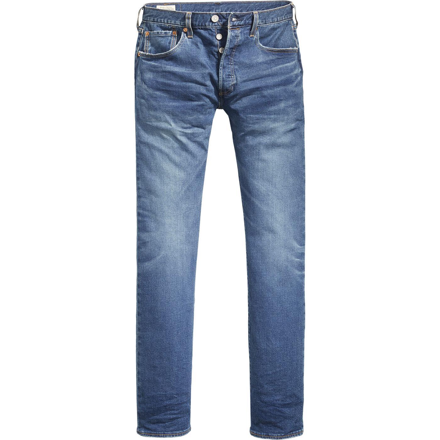 LEVI'S 501 Original Straight Jeans (Key West Sky)
