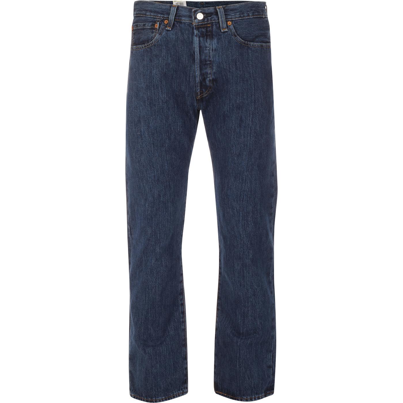LEVI'S 501 Original Straight Leg Jeans (Stonewash)