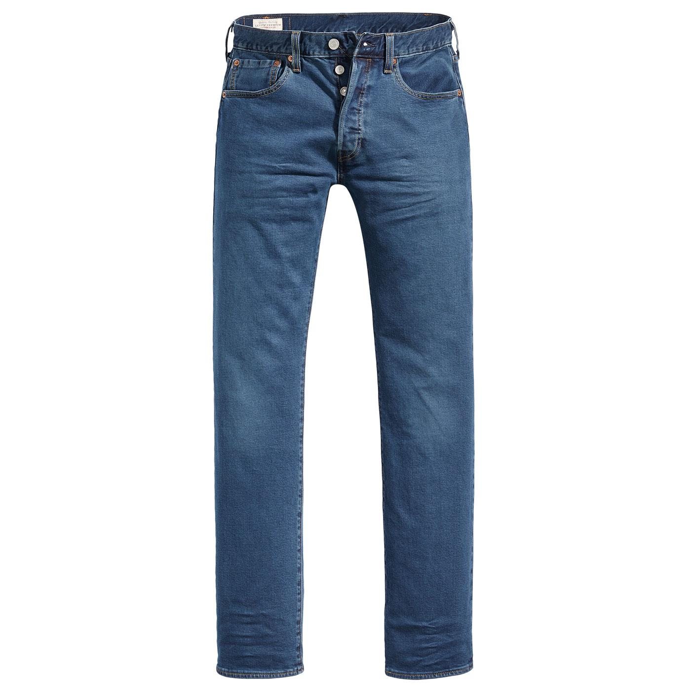LEVI'S 501 Original Straight Denim Jeans Ironwood