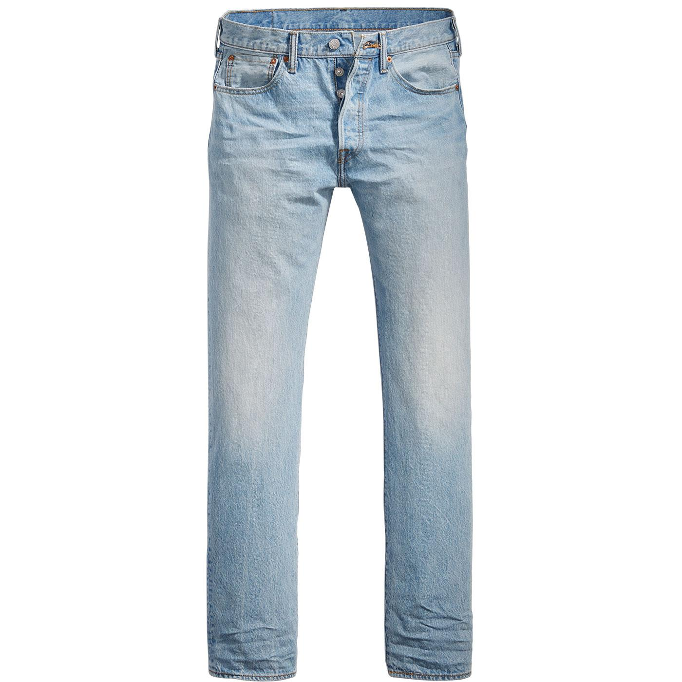 LEVI'S 501 Original Straight Denim Jeans TOMAHAWK