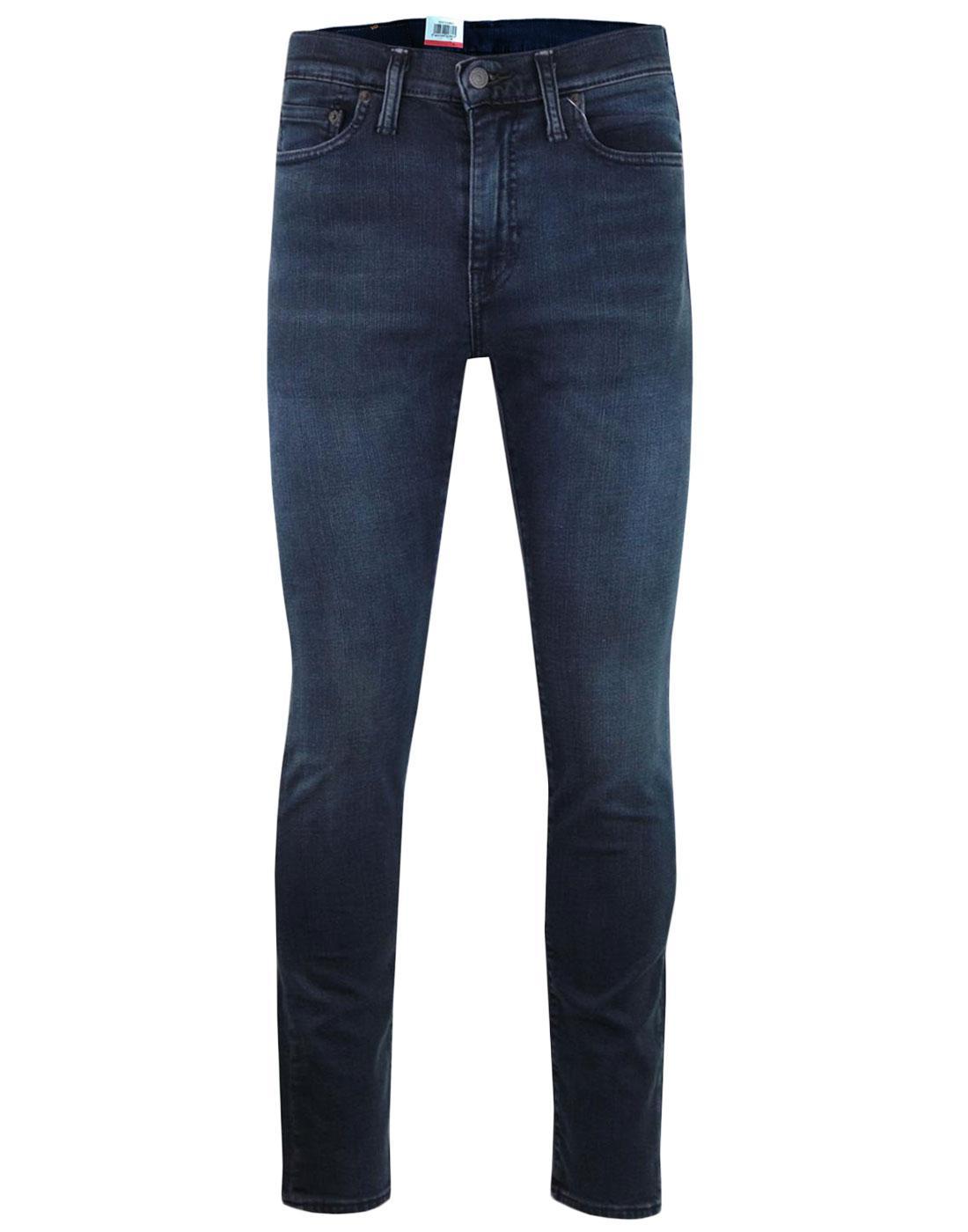 LEVI'S 510 Mod Skinny Fit Jeans EYSER BLUE STRETCH