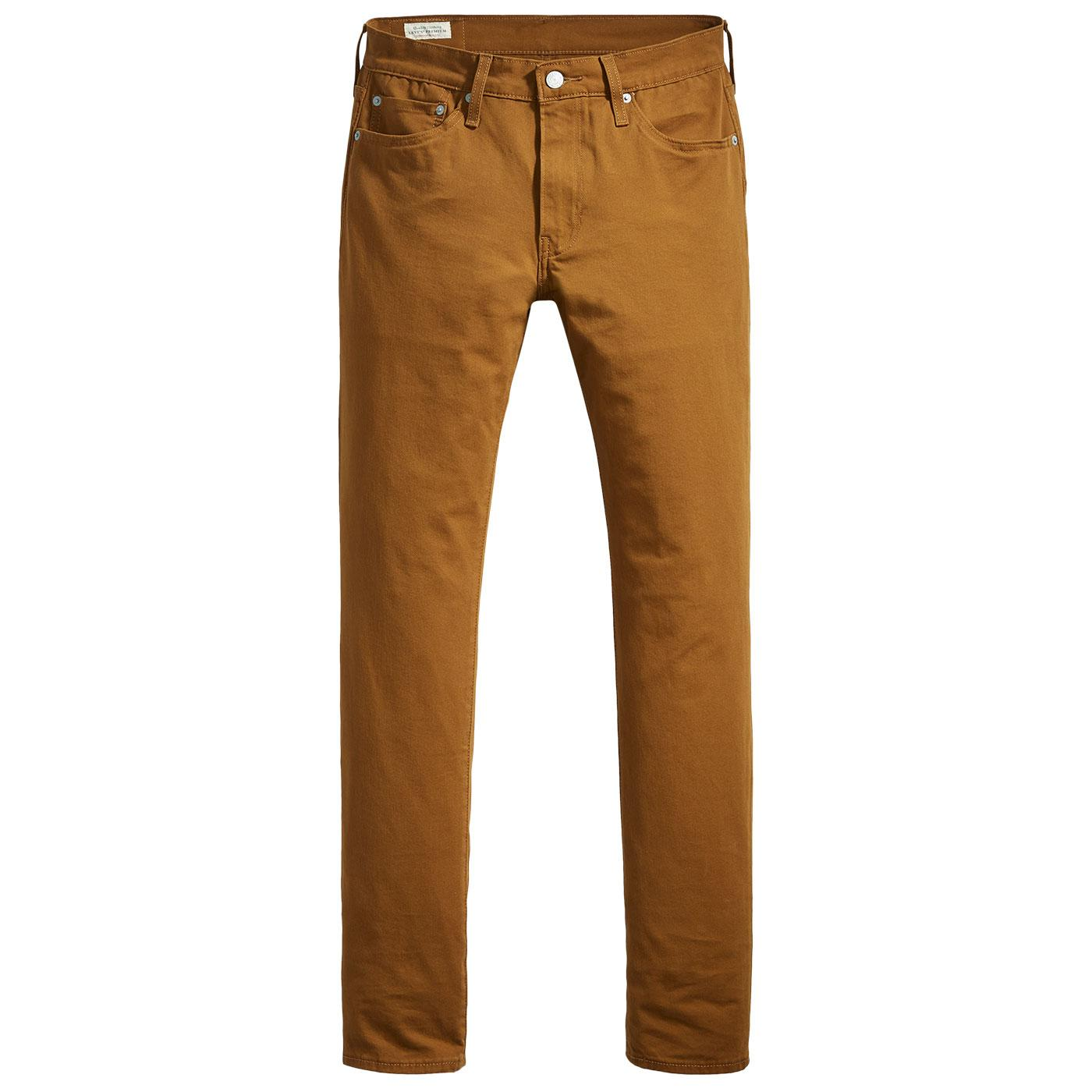 LEVI'S 511 Slim Fit Chino Trousers (Monks Robe)