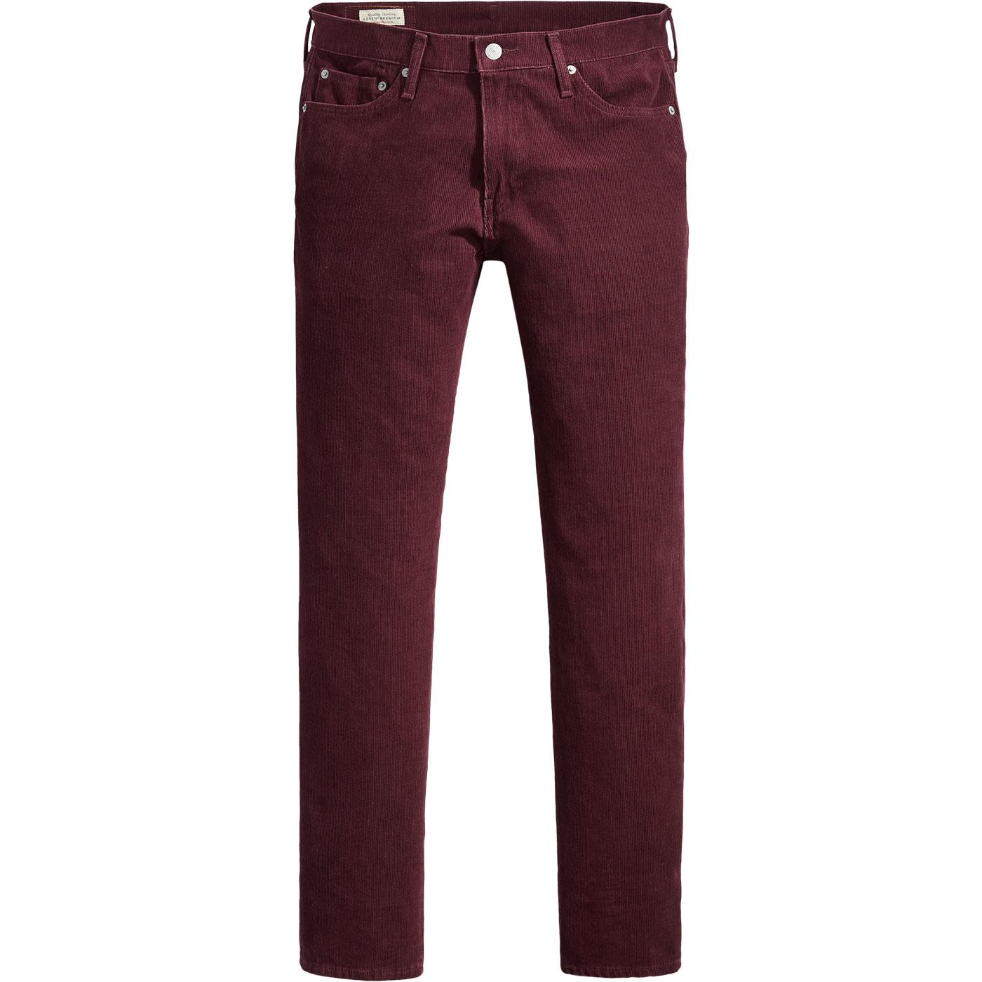 LEVI'S 511 Retro Mod Slim Cord Jeans (Winetasting)