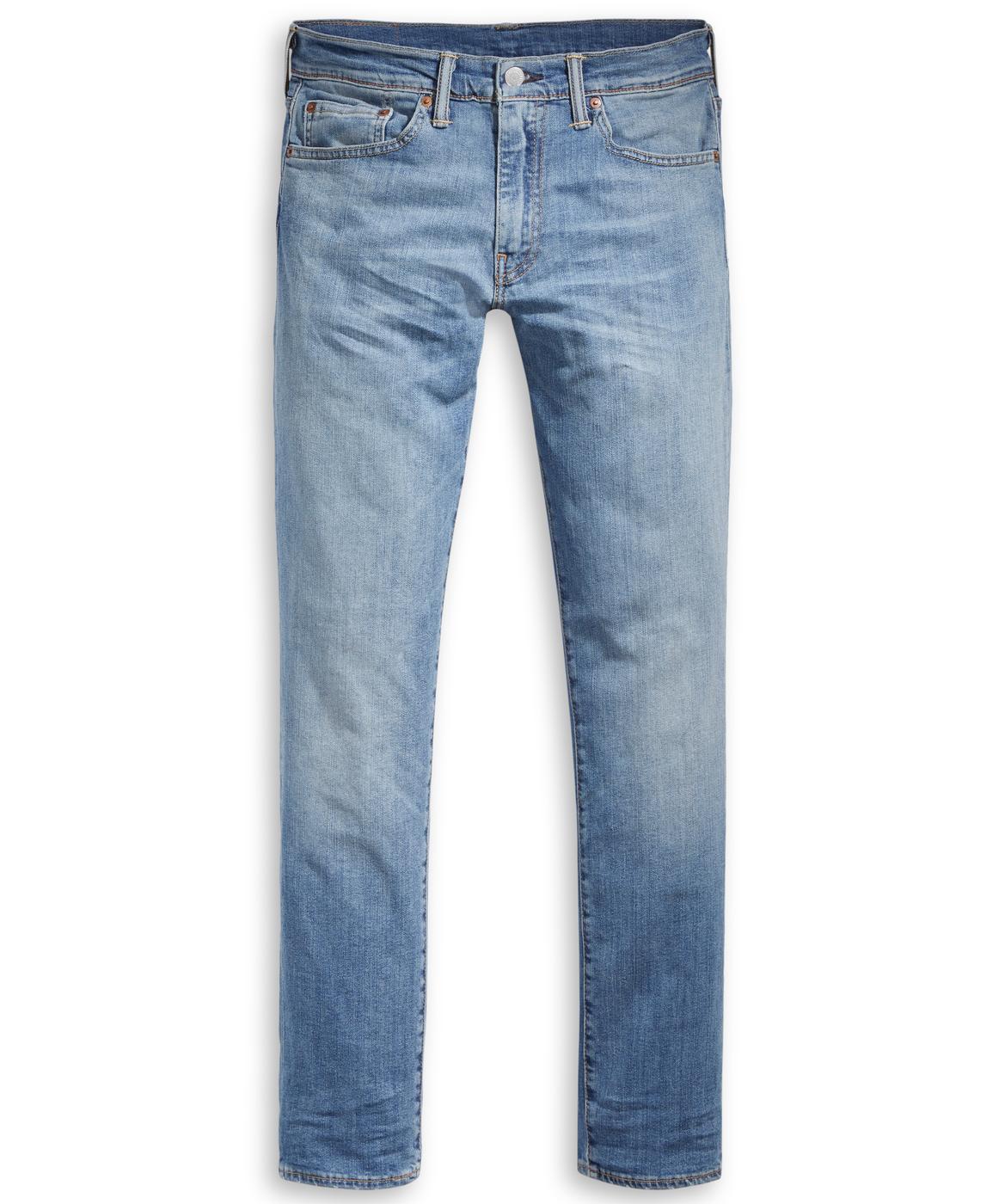 LEVI'S 511 Mens Mod Slim Denim Jeans SUN FADE BLUE