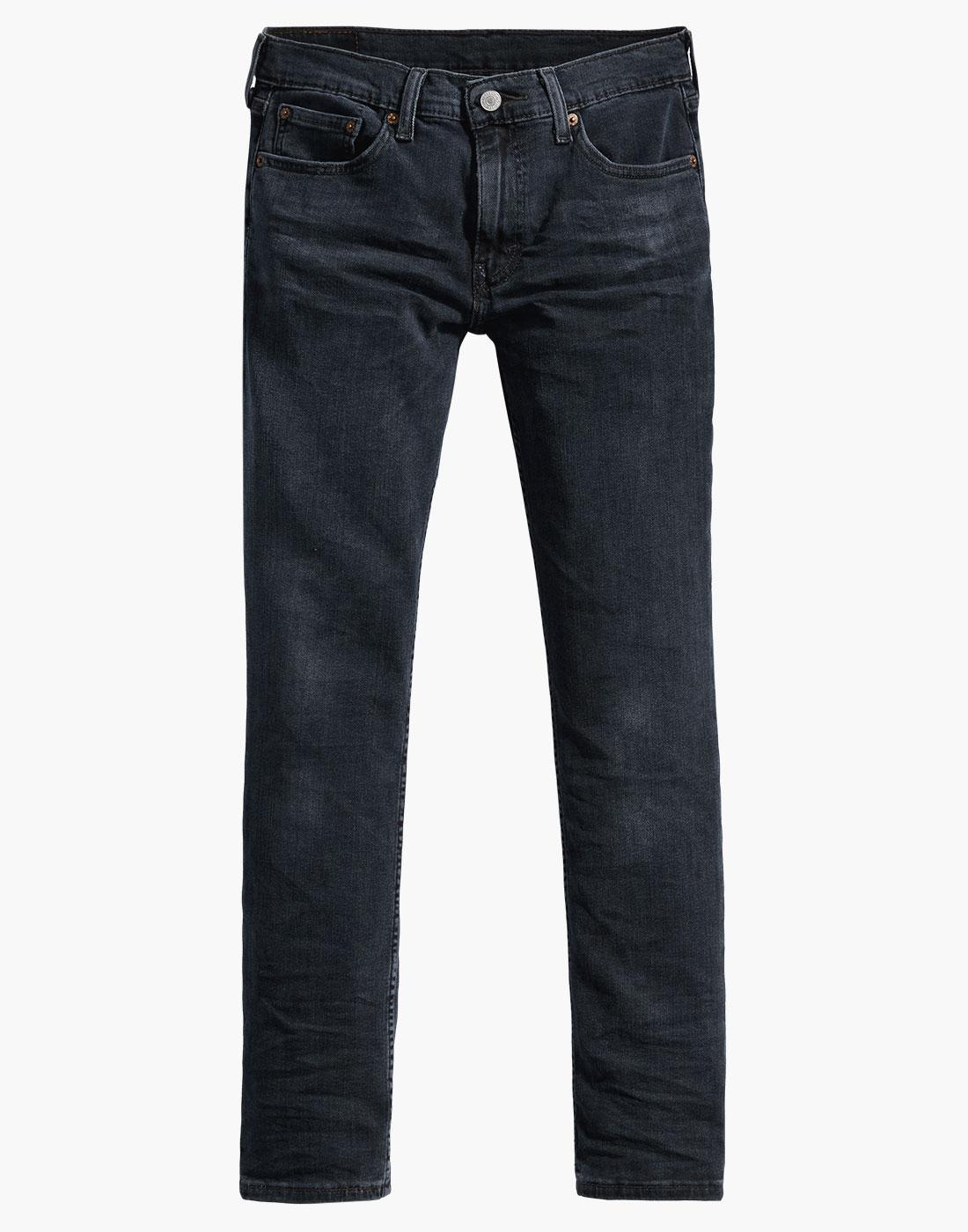 LEVI'S 511 Retro Mod Slim Denim Jeans HEADED SOUTH