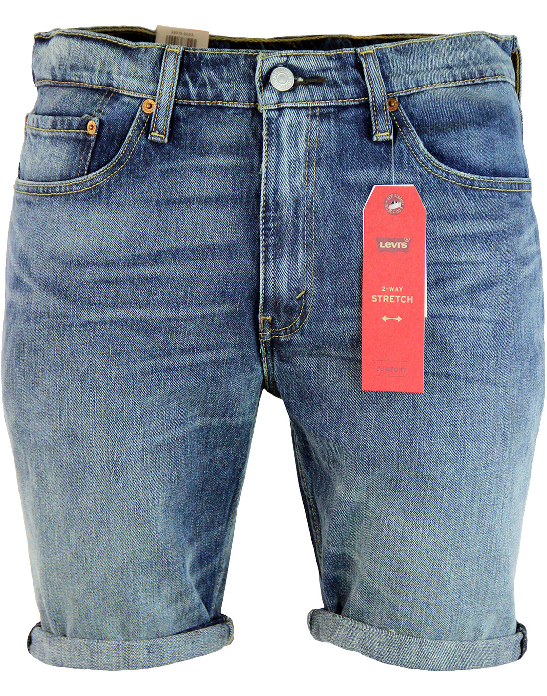 LEVI'S® 511 Retro Slim Hemmed Denim Shorts HIFI
