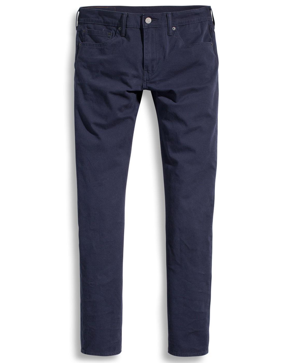 LEVI'S 511 Retro Slim Fit Chinos NIGHTWATCH  BLUE