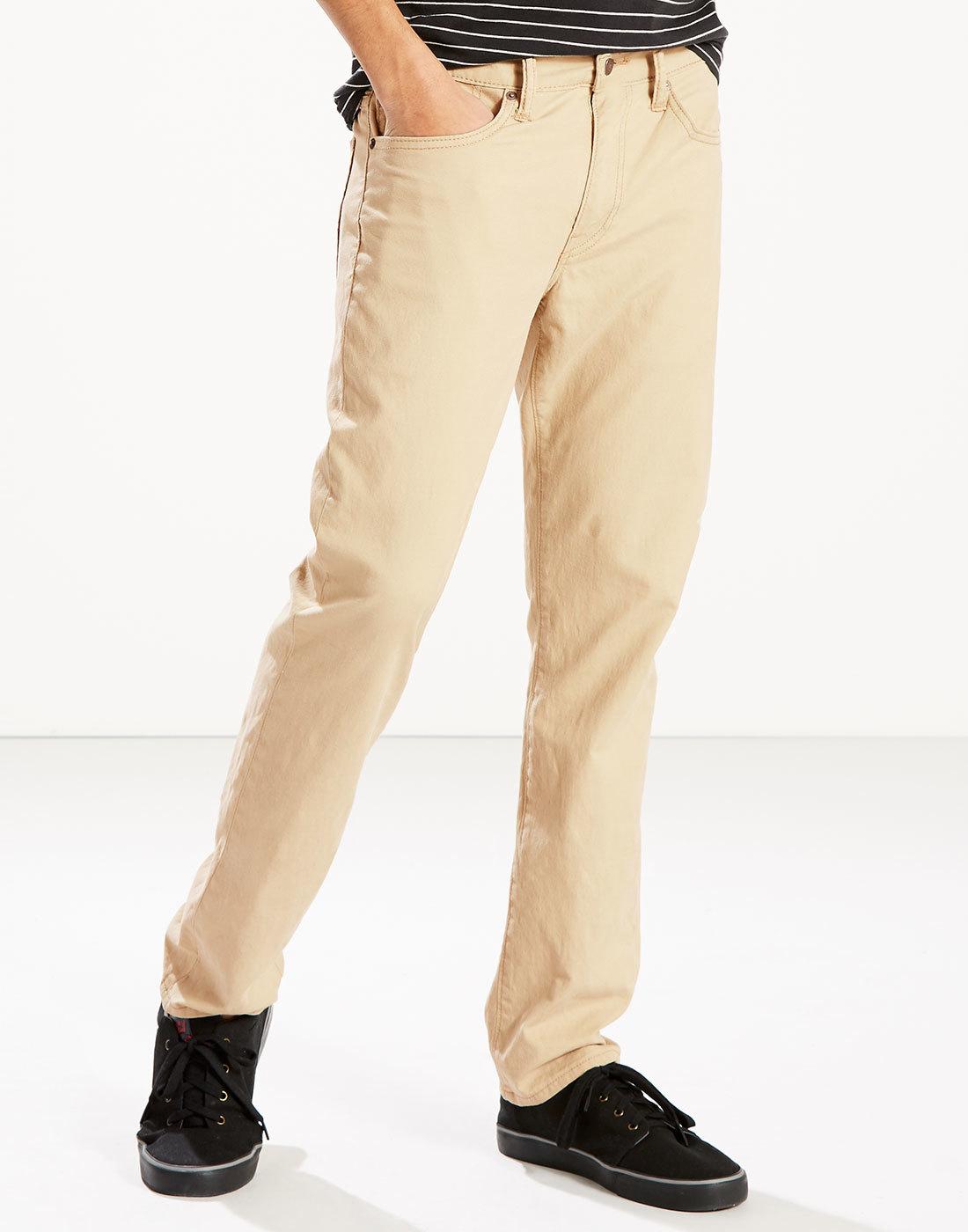 LEVI'S® 511 Men's Retro Linen Mix Slim Jeans SAND