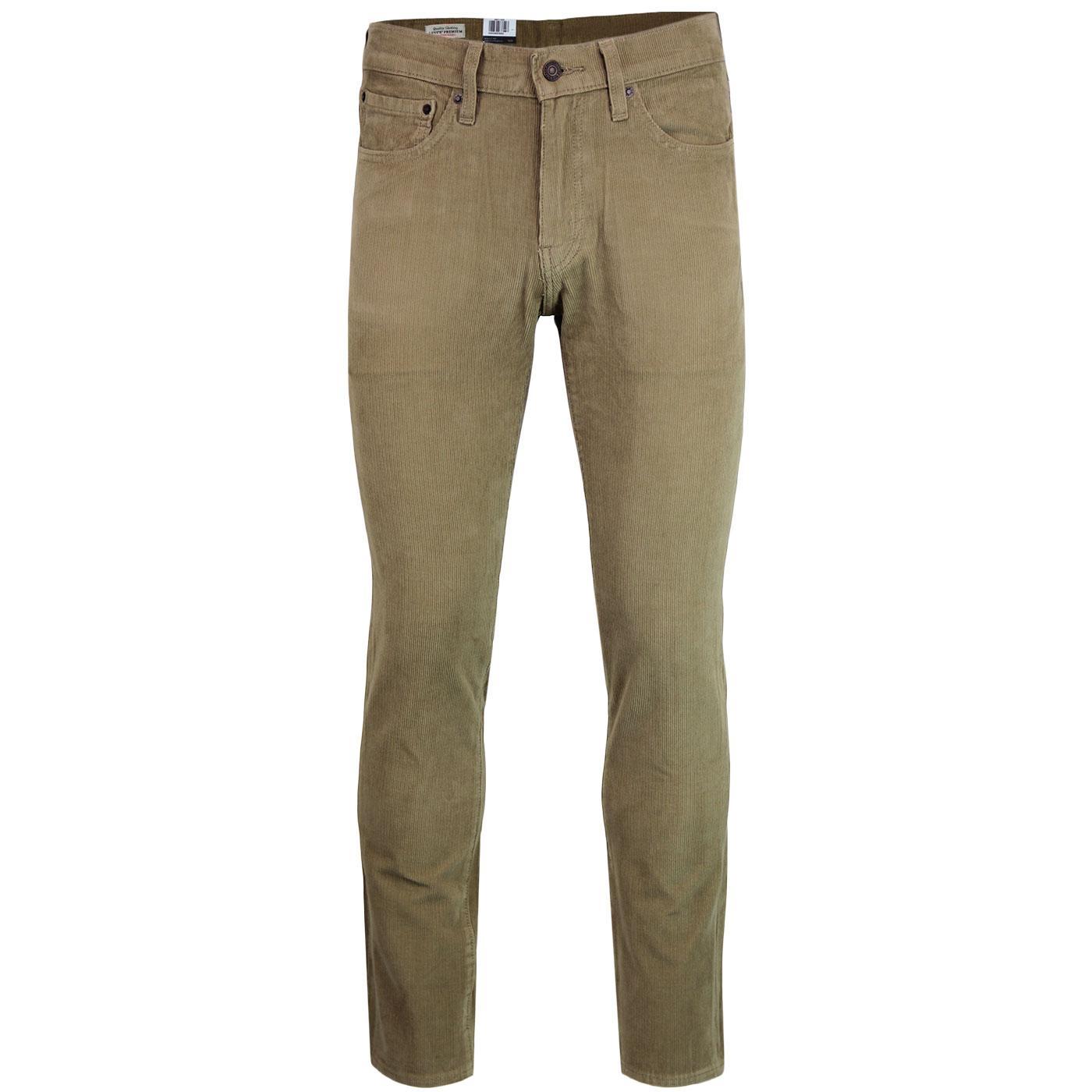 LEVI'S 511 Retro Mod Slim Cord Jeans (Lead Grey)