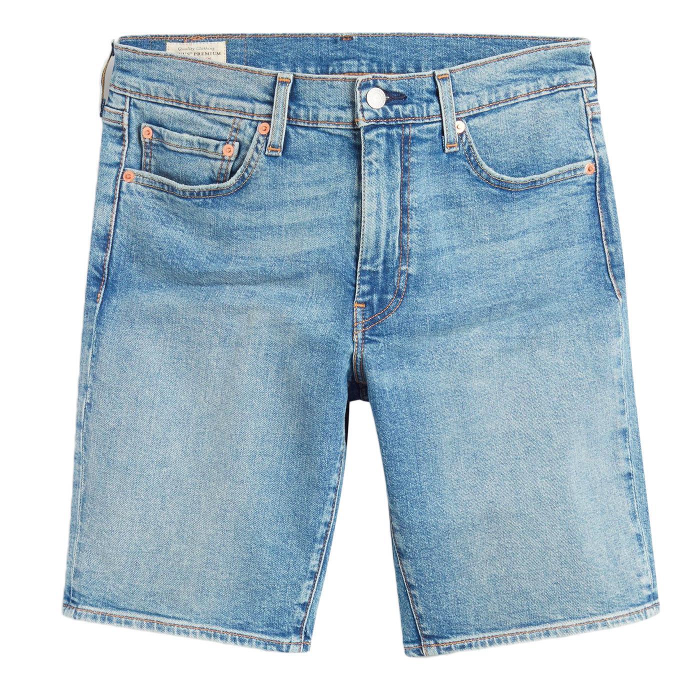 LEVI'S 511 Slim Hemmed Denim Shorts BAGUETTE SHORT