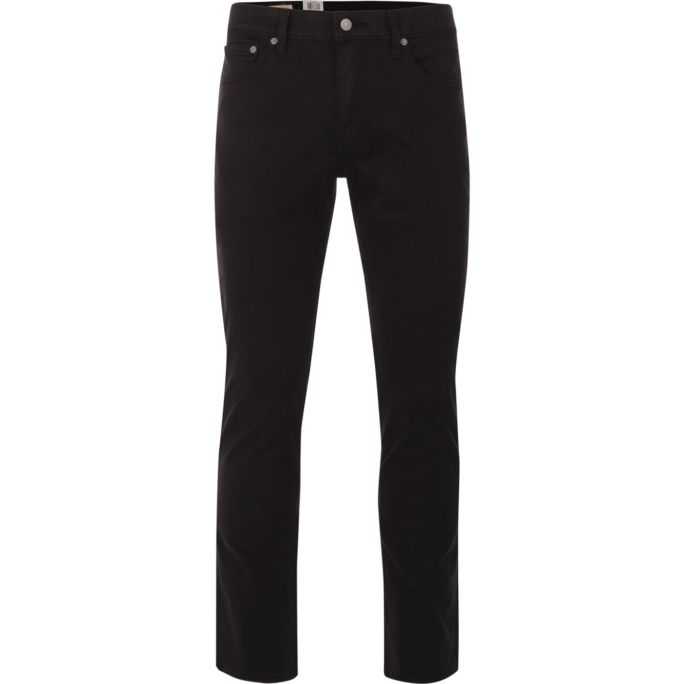 LEVI'S 511 Slim Fit Sueded Sateen Chinos (Caviar)
