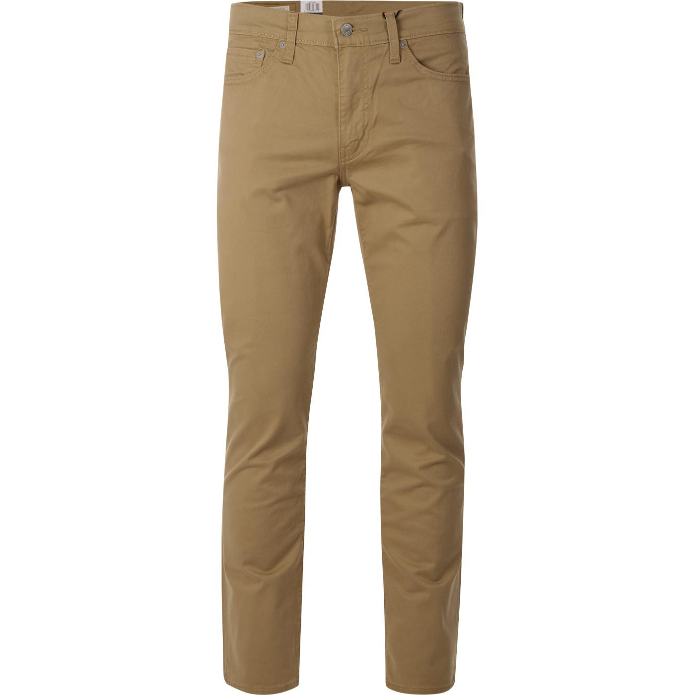 LEVI'S 511 Slim Fit Sueded Sateen Chinos (HG)