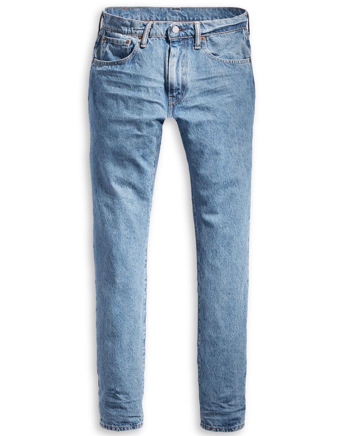 LEVI'S 512 Slim Taper Fit Denim Jeans STONED POPPY