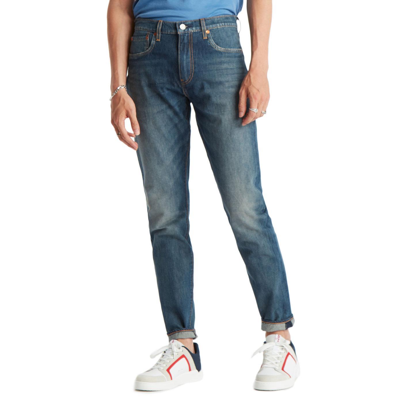 LEVI'S 512 Slim Taper Denim Jeans CIOCCOLATO COOL