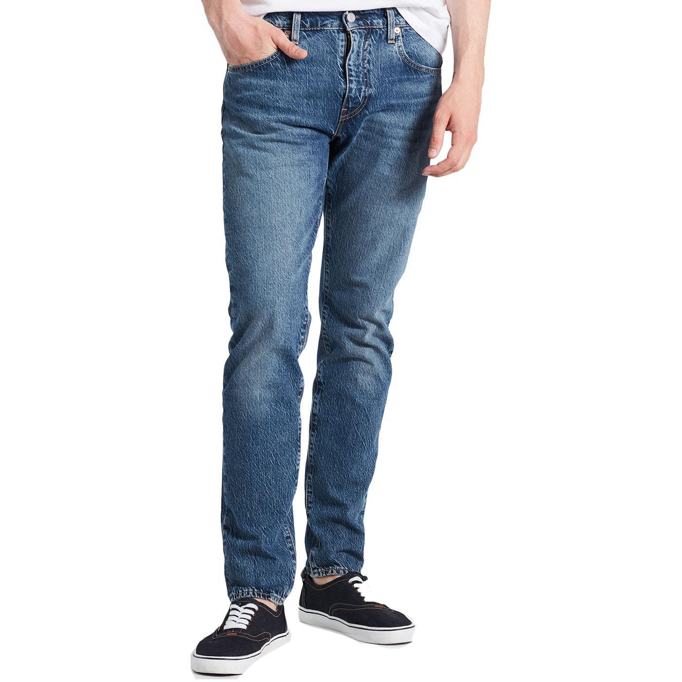 LEVI'S 512 Slim Taper Denim Jeans (Marcel Dark)