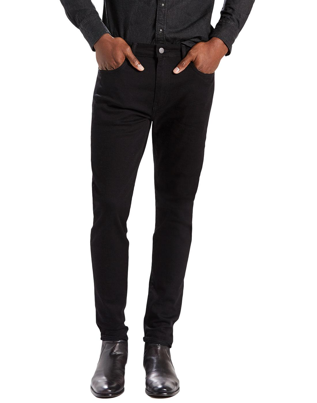 LEVI'S 512 Slim Tapered Mod Denim Jeans NIGHTSHINE