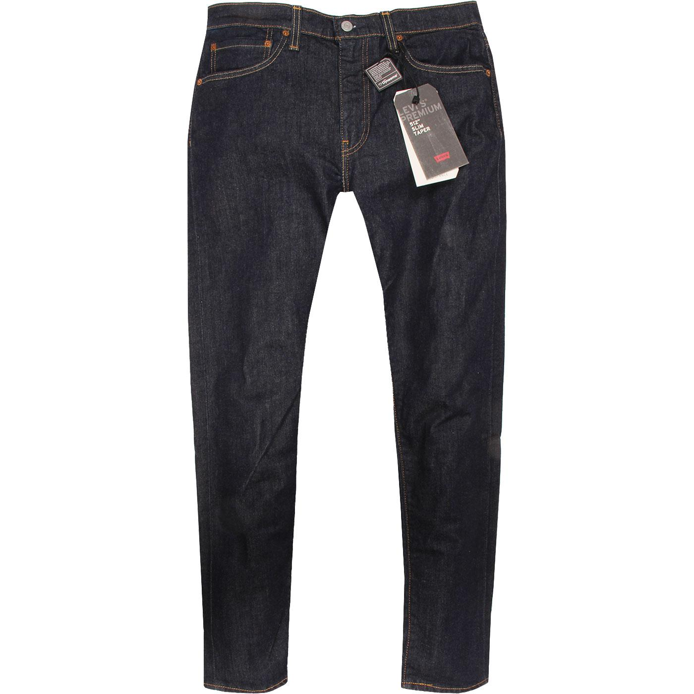 LEVI'S 512 Mod Slim Taper Denim Jeans ROCK COD