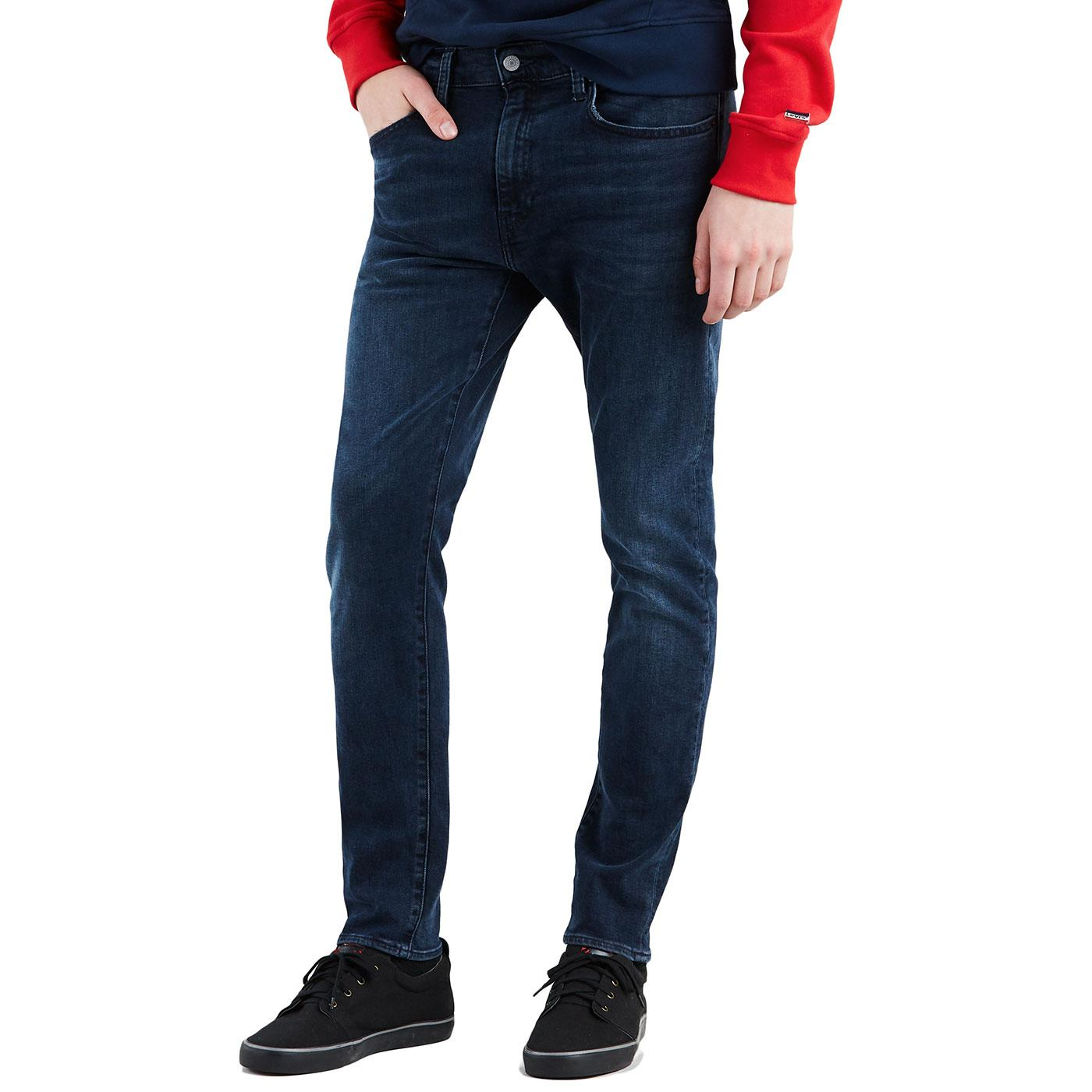 LEVI'S 512 Slim Taper Denim Jeans (Dark Blue)