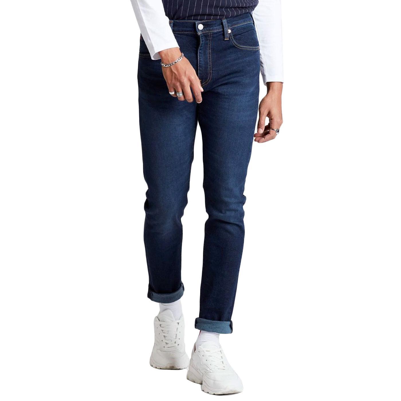 LEVI'S 512 Slim Taper Denim Jeans SAGE DARK BLUE