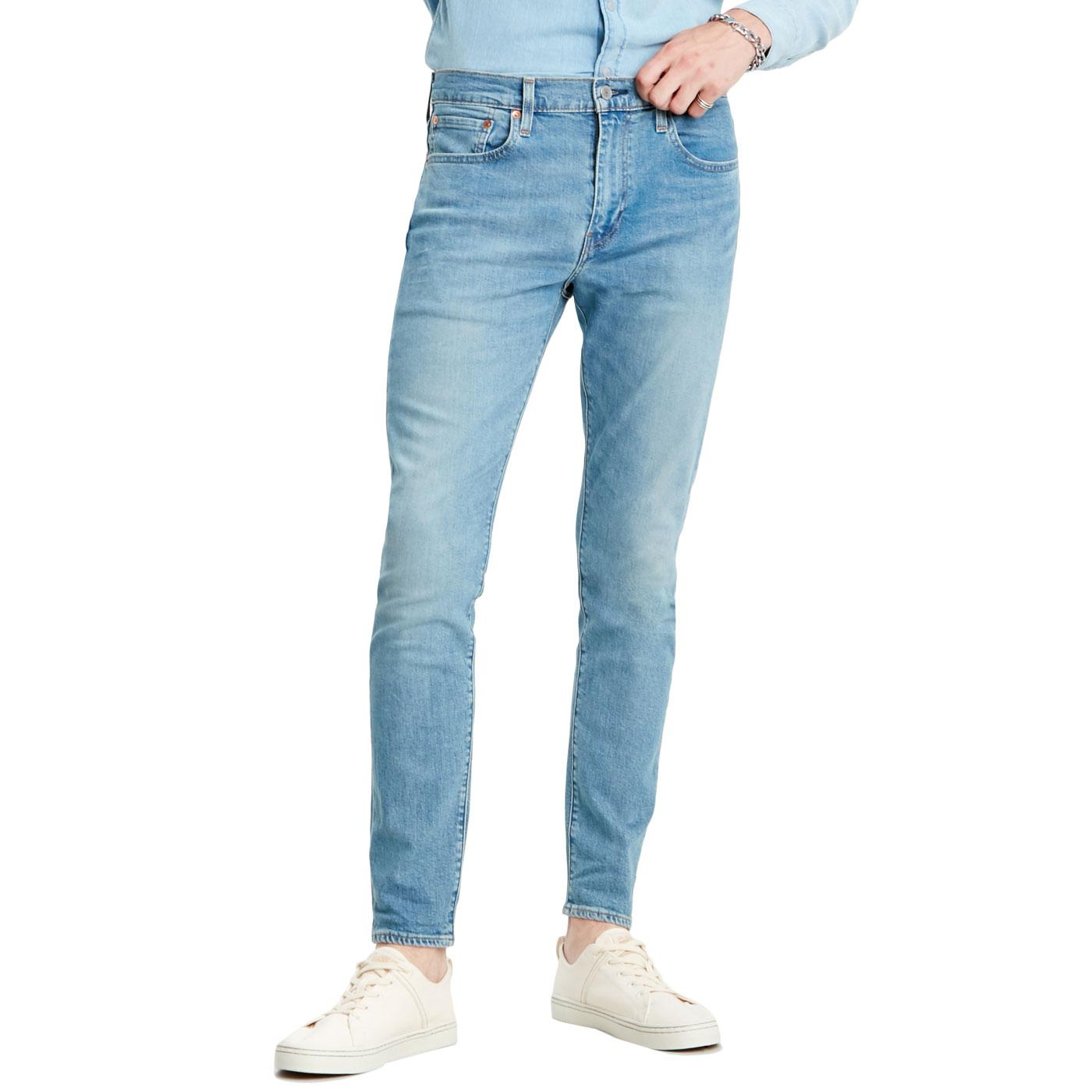 LEVI'S 512 Slim Taper Denim Jeans (Pelican Rust)