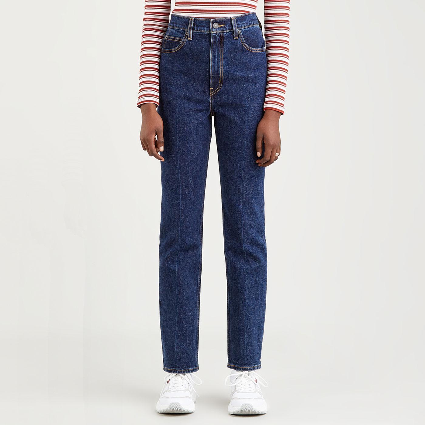 LEVI'S 70s High Slim Straight Jeans (Sonoma Stone)