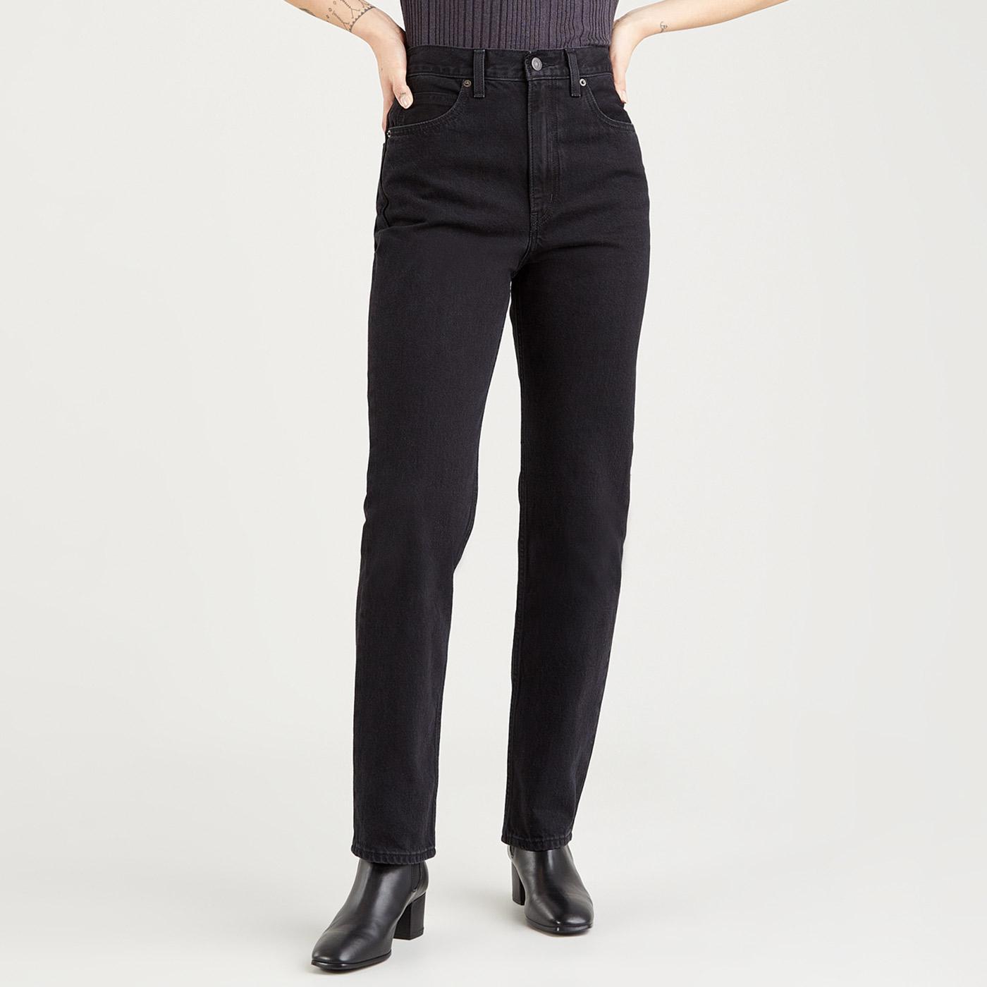 LEVI'S 70s High Slim Straight Jeans (Trainwreck)