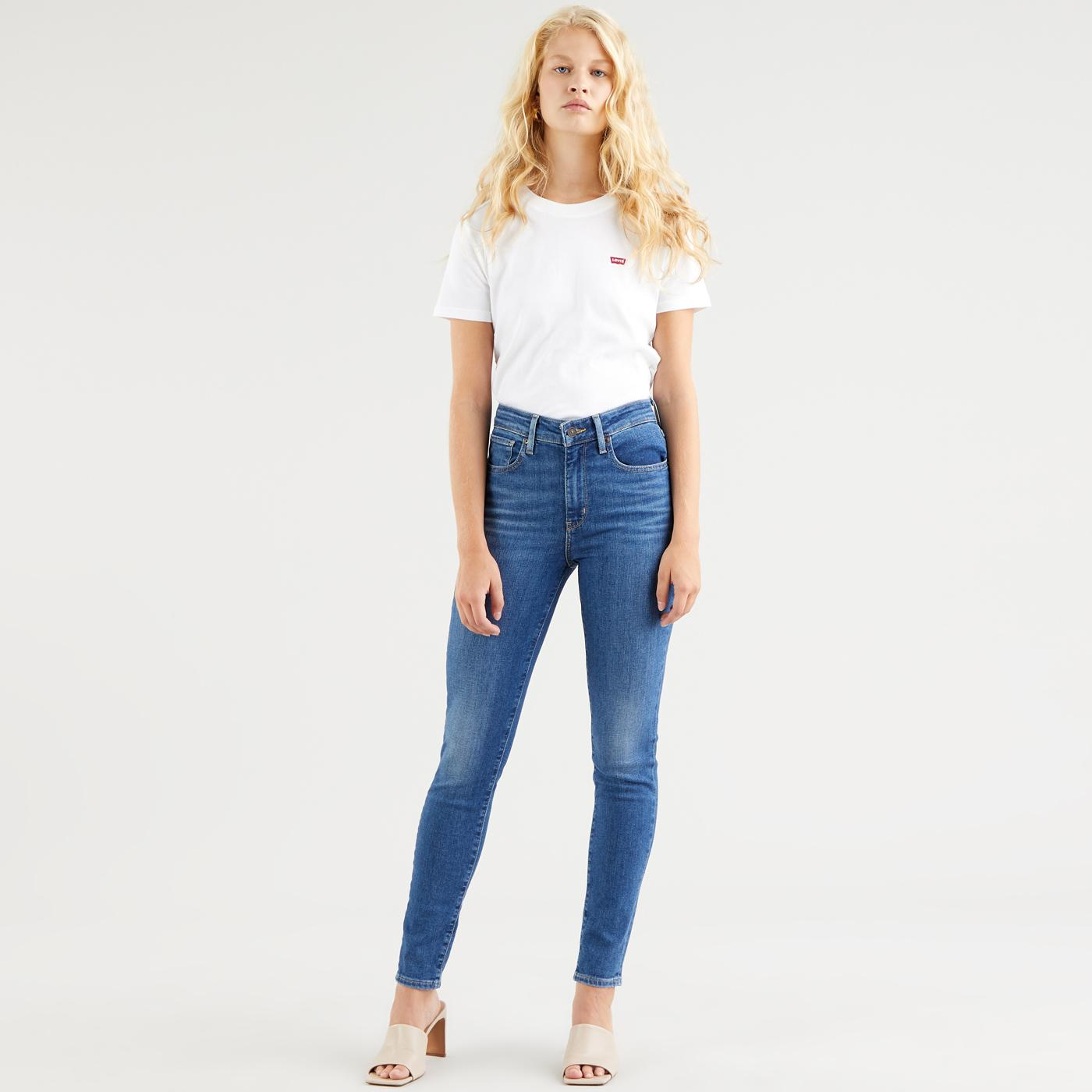 LEVI'S 721 High Rise Skinny Jeans (Good Afternoon)